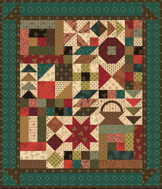 This and That Quilt kit