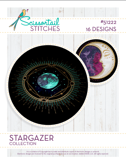 STARGAZER embroidery collection