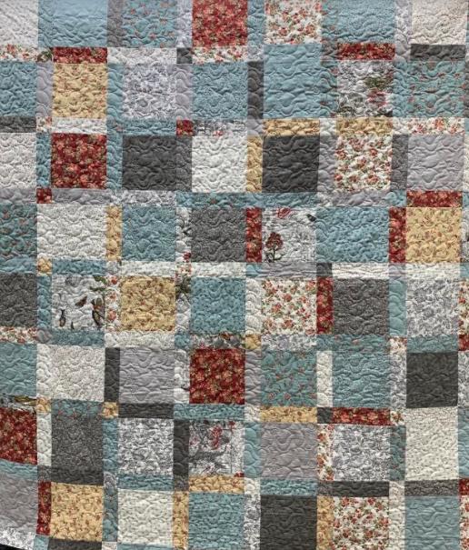 Nikko quilt kit 67x76
