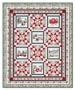 Holiday Heartland Quilt