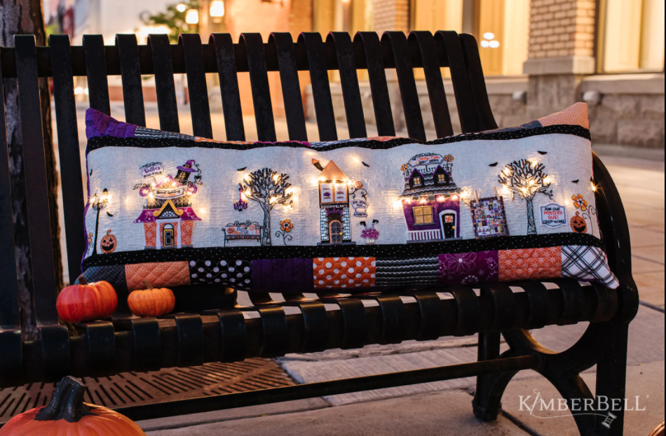Twilight Boo-levard Bench pillow sewing pattern