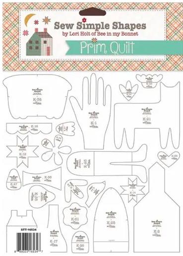 Prim Sew-A-Long by Lori Holt stencils