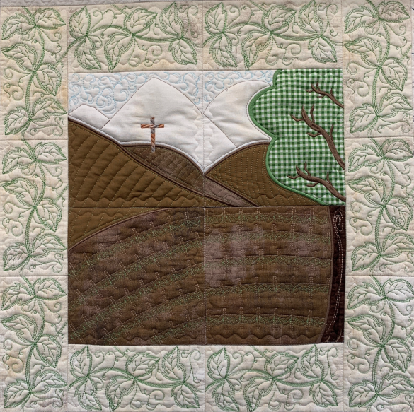 Hoopsister's Vineyard Quilt Section Designs Preorder