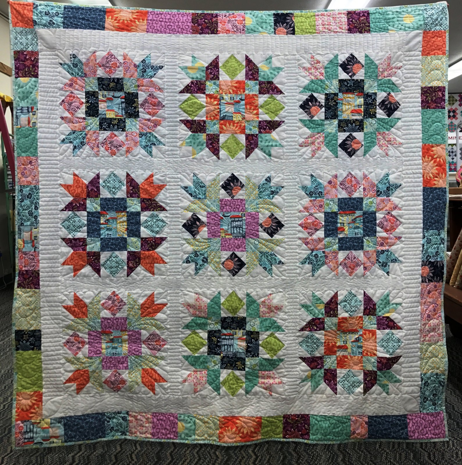 Sewing Garden Quilt Kit