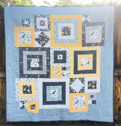 Squared Away Quilt Kit