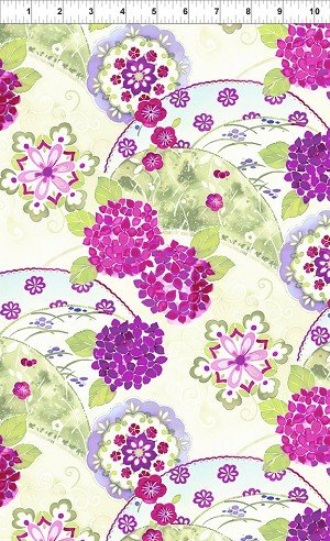 Ajisai by Jason Yenter for In the Beginning Fabrics 1AJI 3
