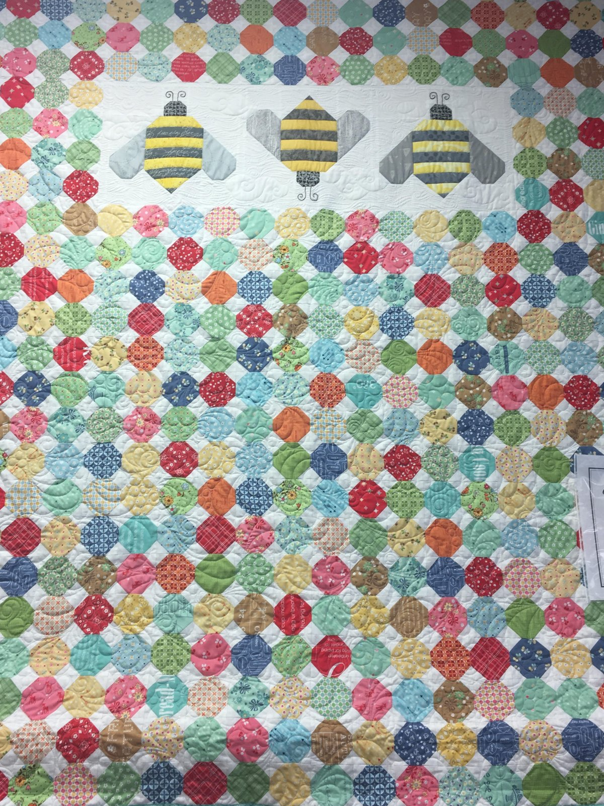 Calico Hive Quilt Kit