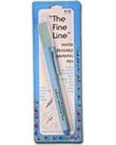The Fine Line Air Erasable Marking Pen Blue Ink
