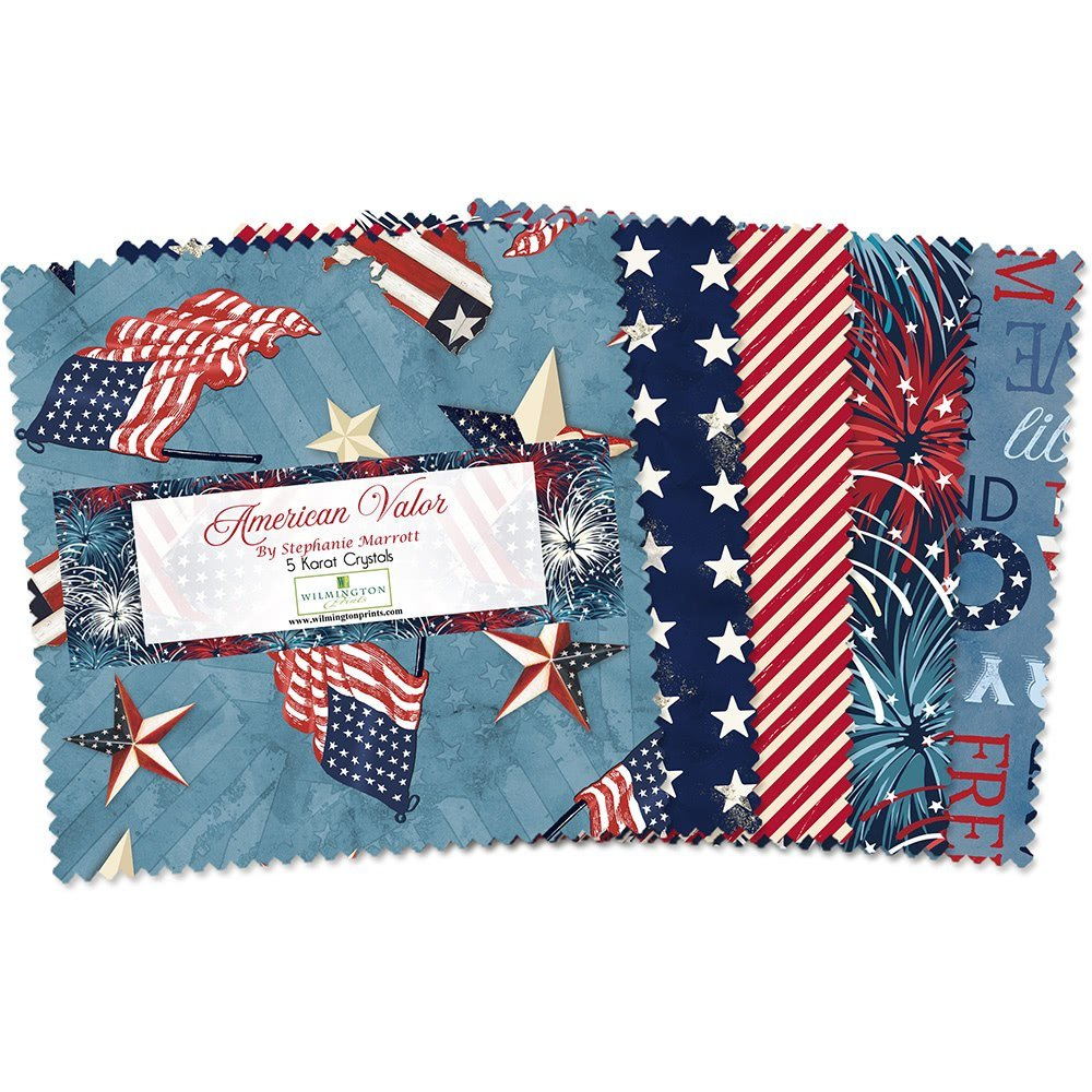 American Valor by Wilmington Prints Layer Cake