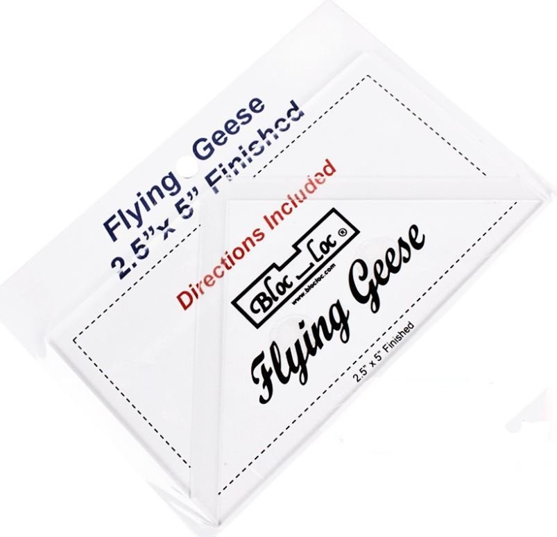 Bloc-Loc Flying Geese Ruler- 2.5 x 5