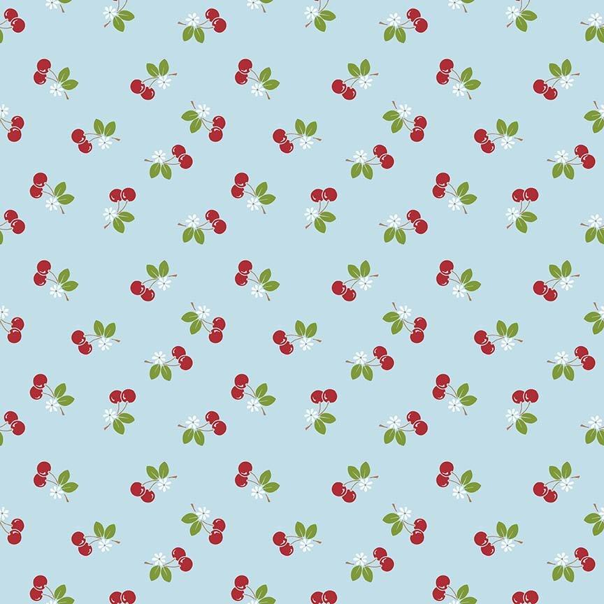 Sew Cherry 2  C5804-AQUA