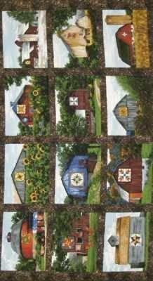 Quilt Trails Panel TRO-1730