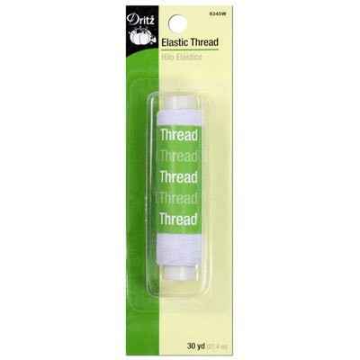 Dritz Elastic Thread- White