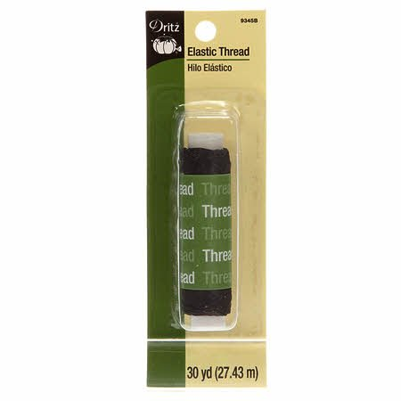 Dritz Elastic Thread- Black