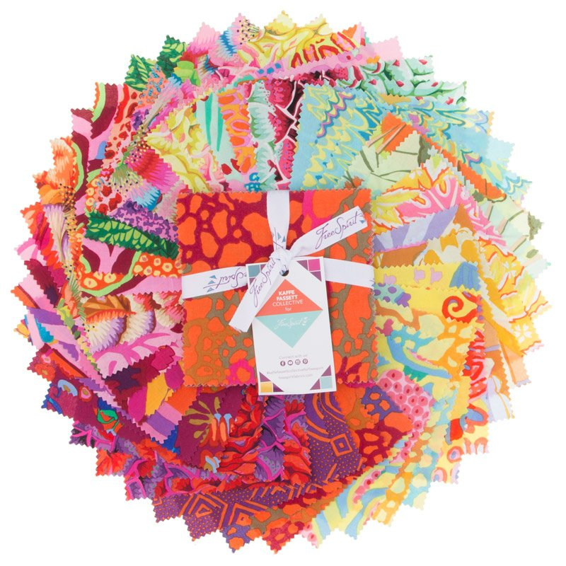 Kaffe Fassett Collective Spring 2018 - Bright Charm Pack
