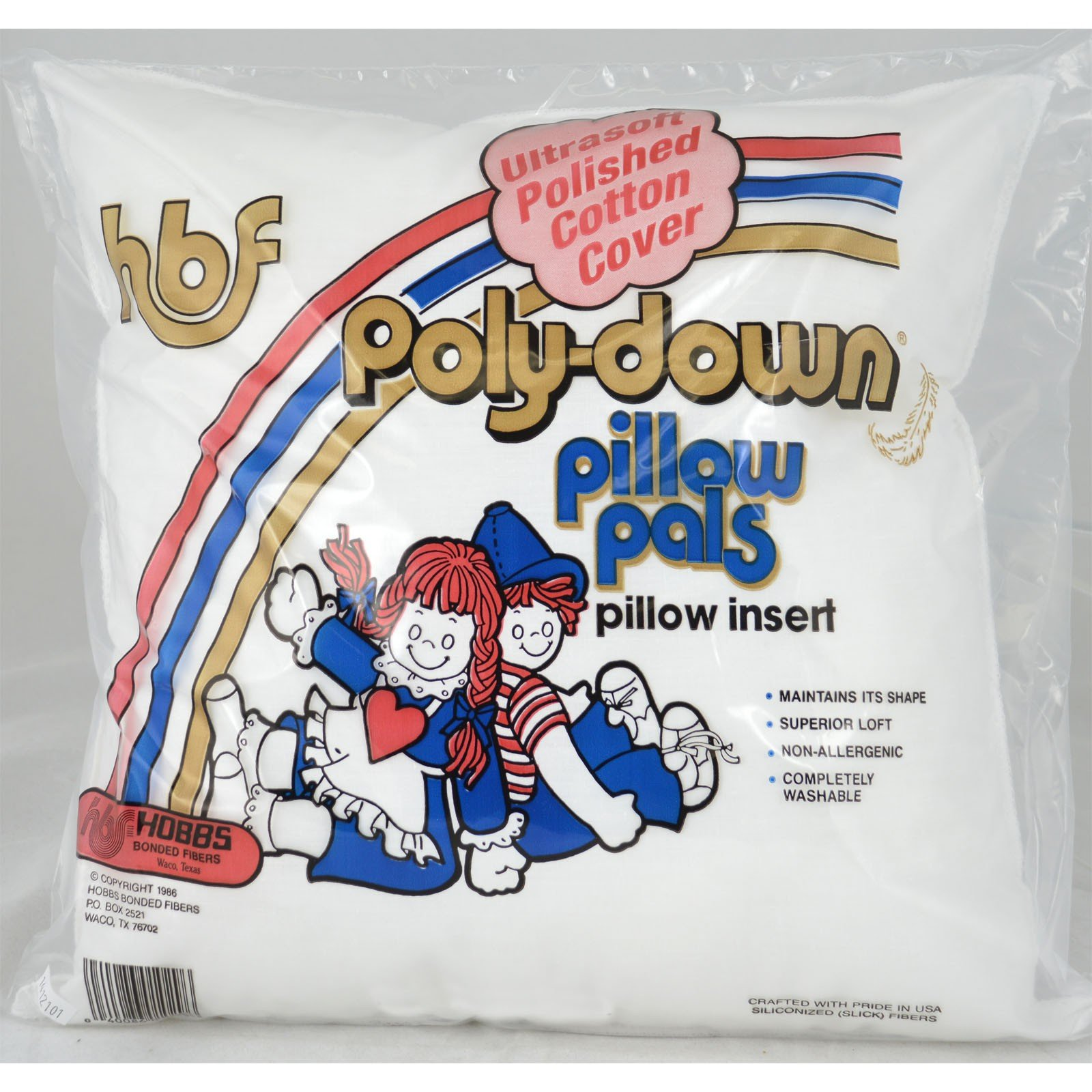 Poly-Down Pillow Form- 20