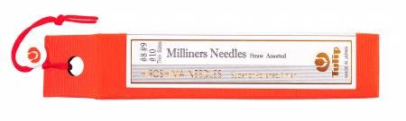 Milliners Needles Straw Assorted- Thin Sizes 8910