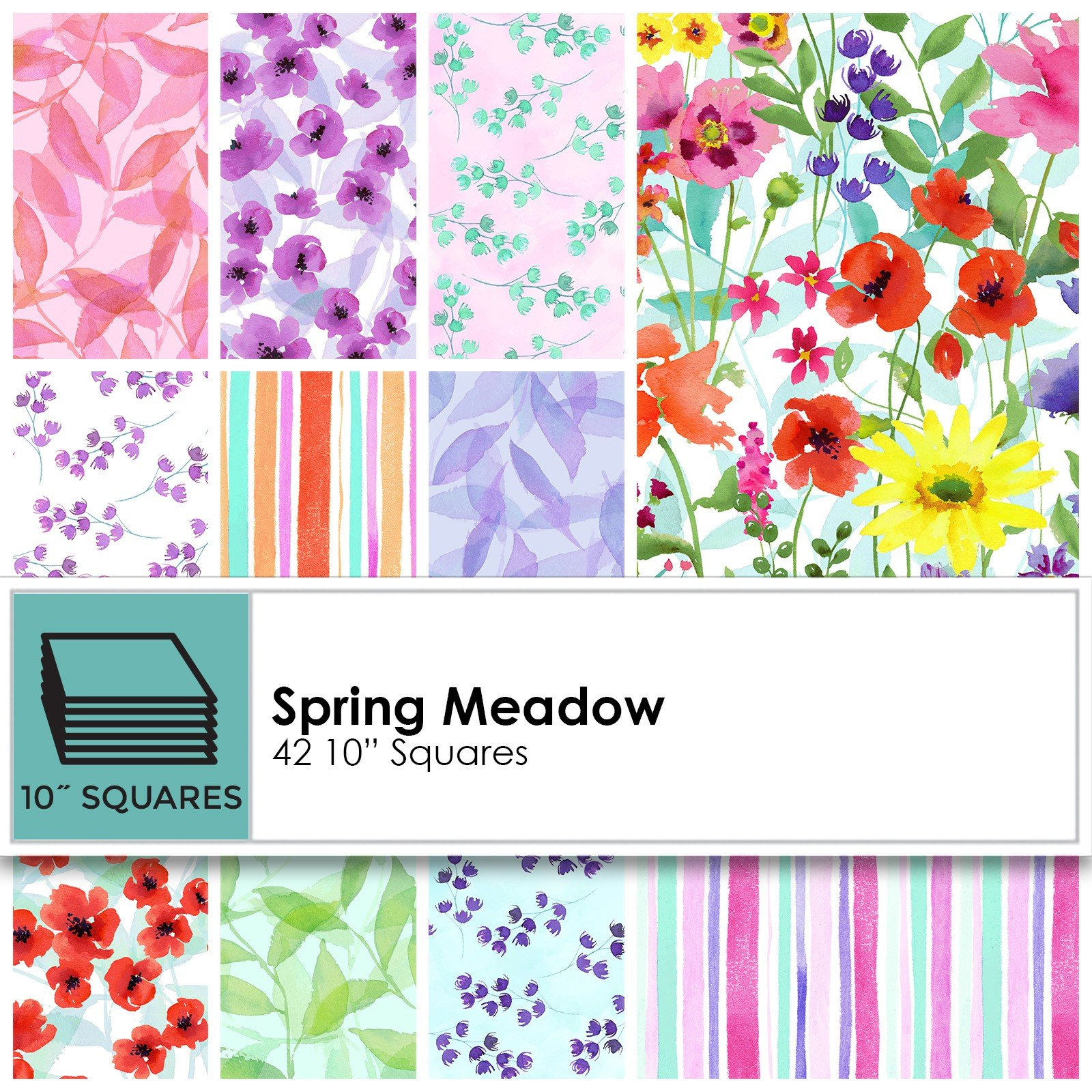 Spring Meadow 10 Squares