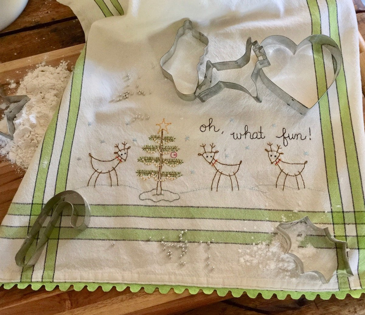 November Option 1: Oh! What Fun Dishtowel Kit - RESERVATION ONLY