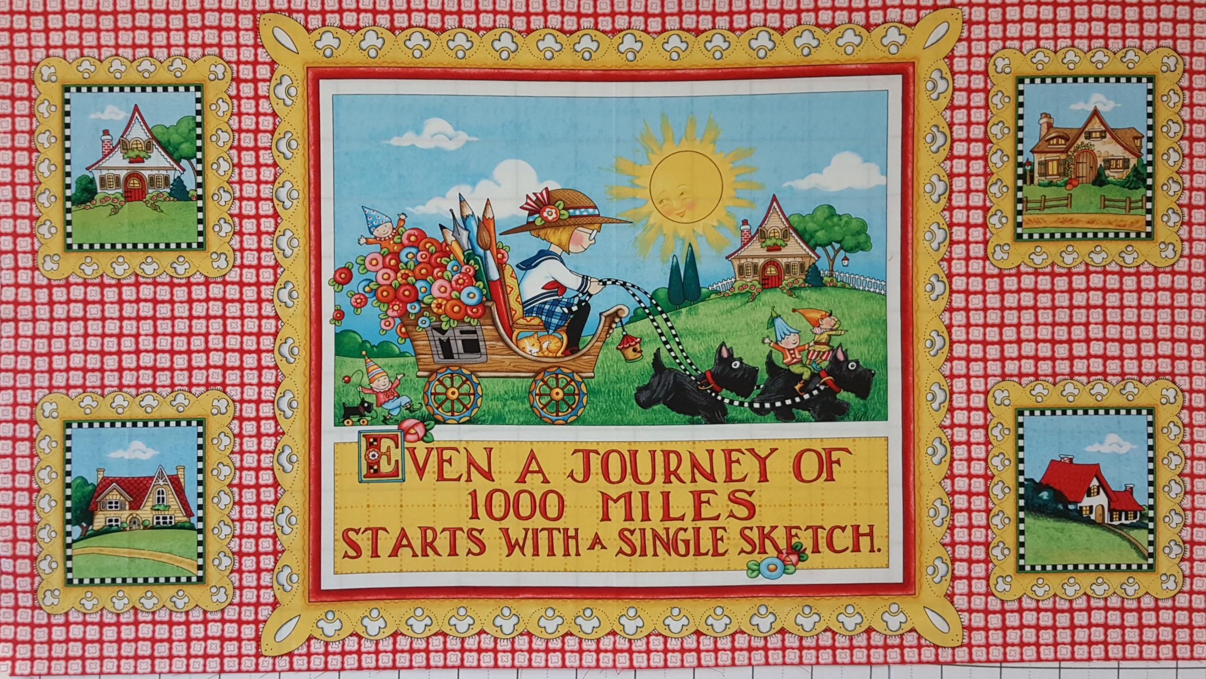 Mary's Journey - Journey Panel