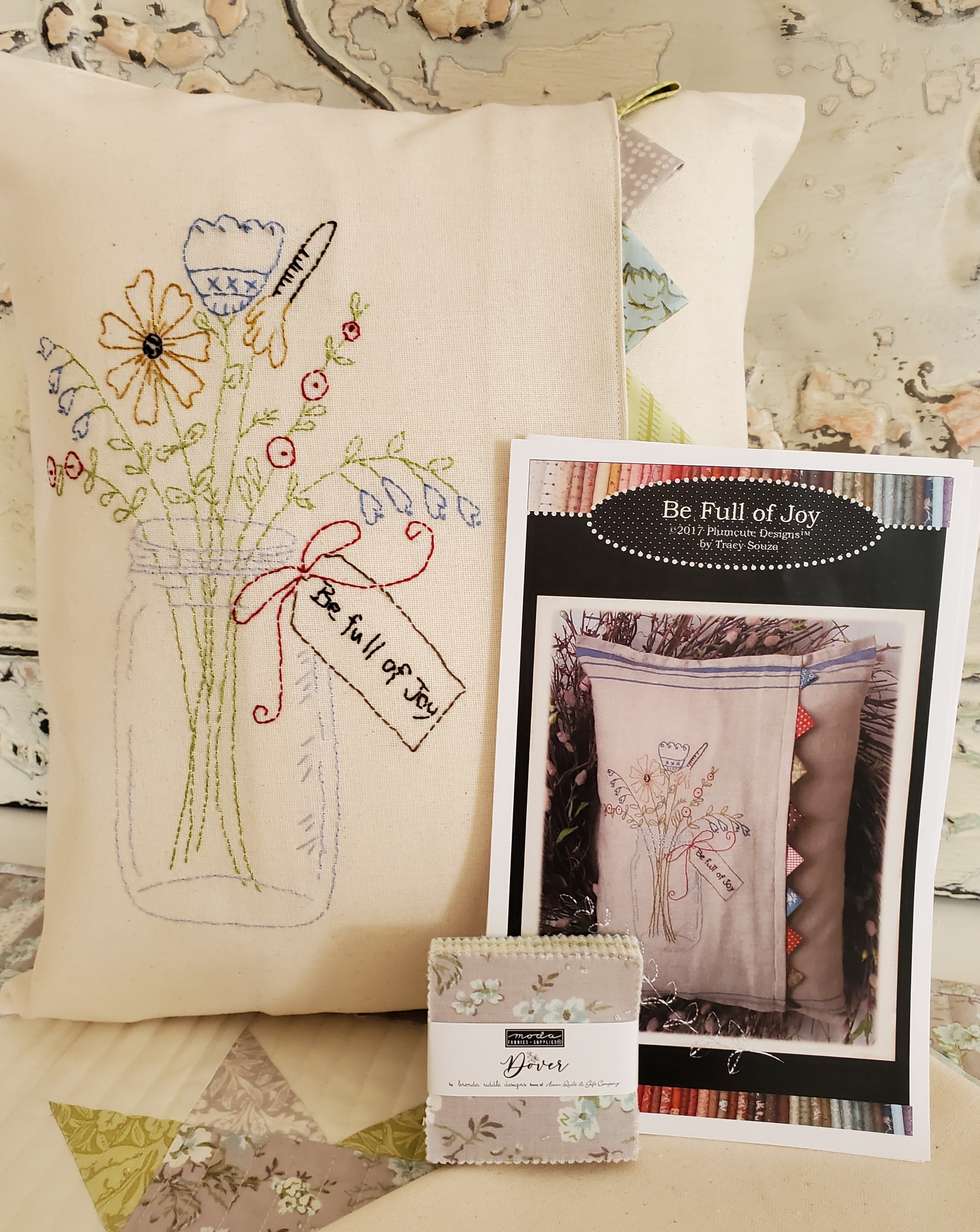 Be Full of Joy Embroidery KIT