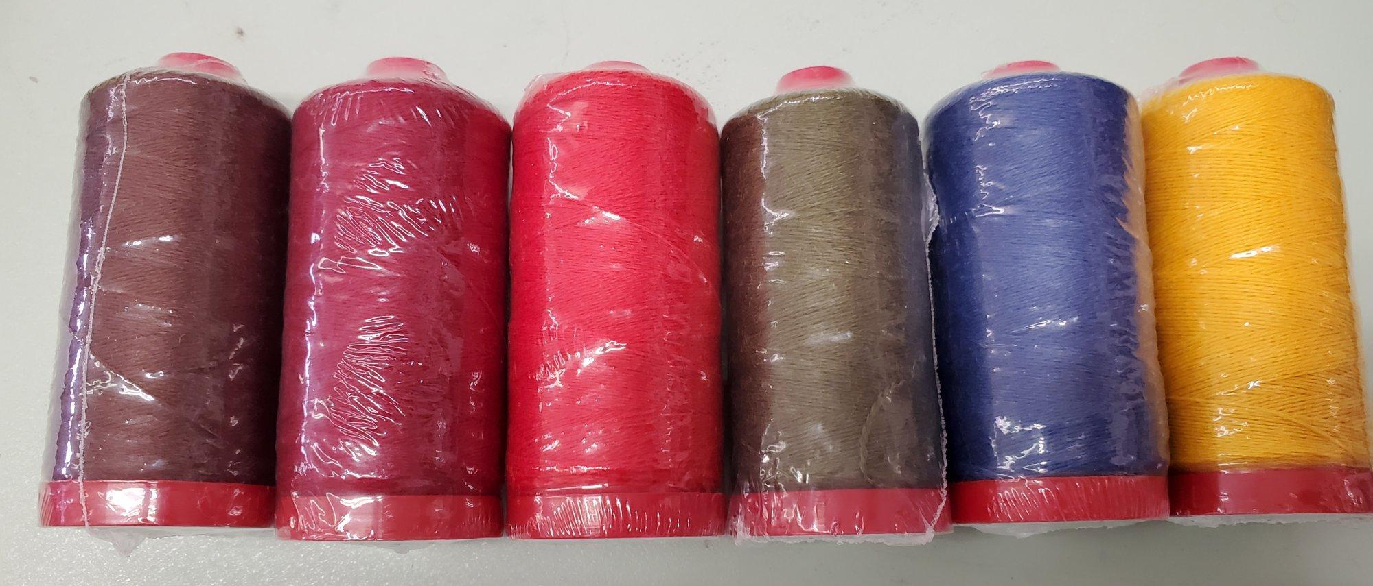Aurifil Wool  6 Spool 12 Wt, 2 Ply Thread/ Floss