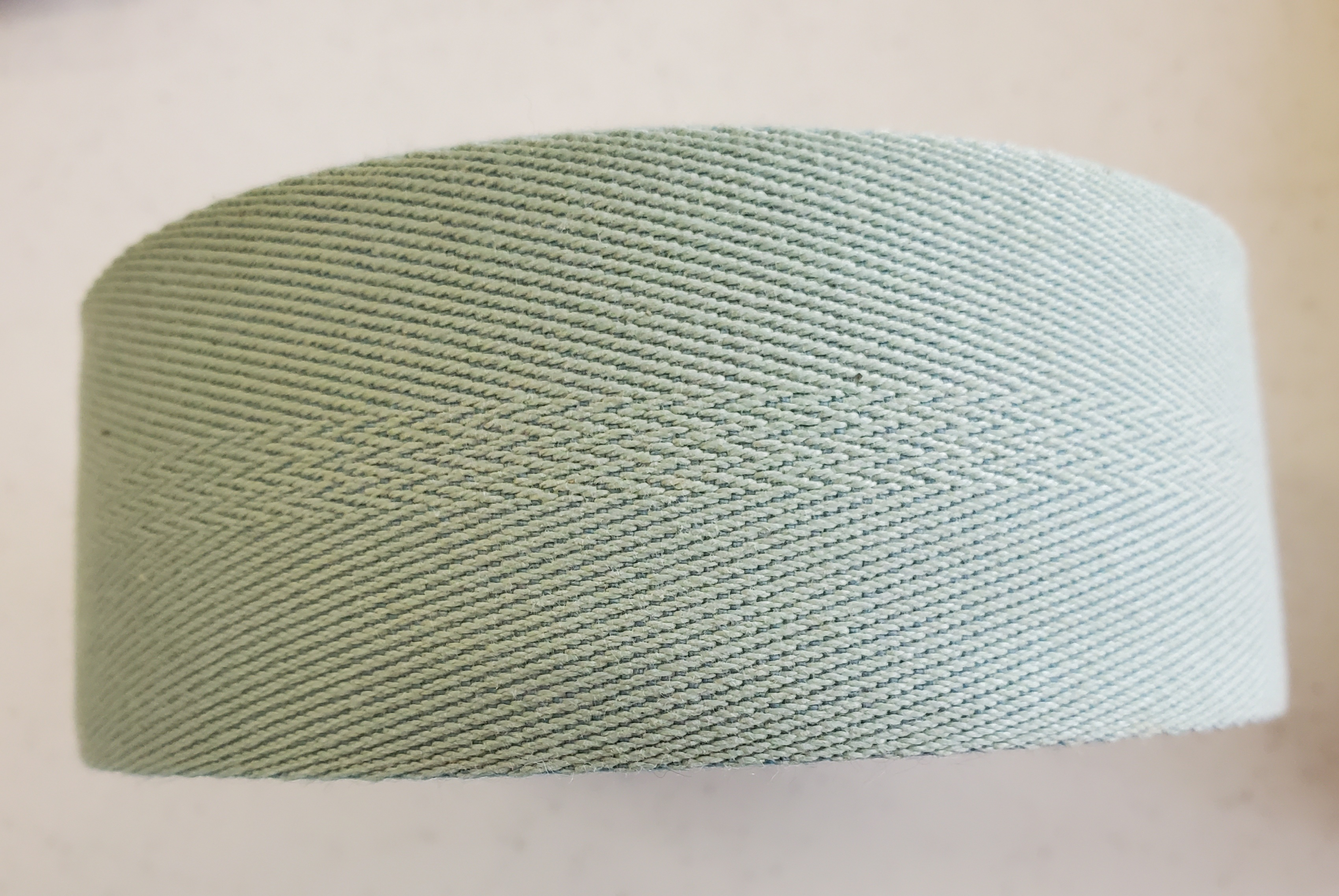 Cotton & Polyester Webbing 2in Sage