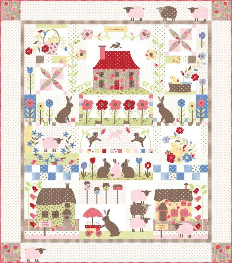 Cottontail Cottage Quilt KIT Reservation Fee