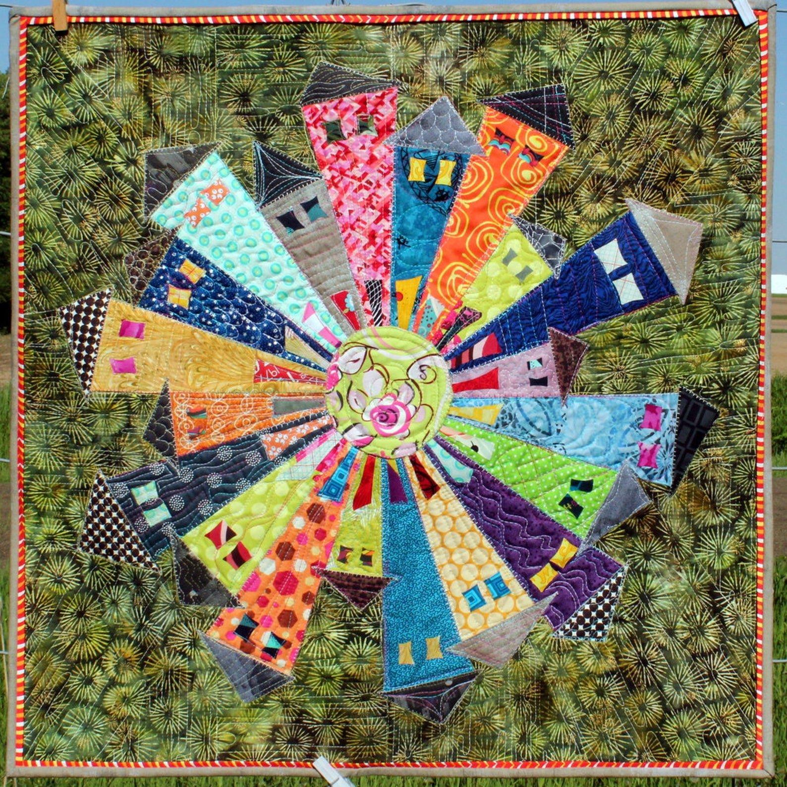 Dresden Neighborhood Mini Quilt Pattern
