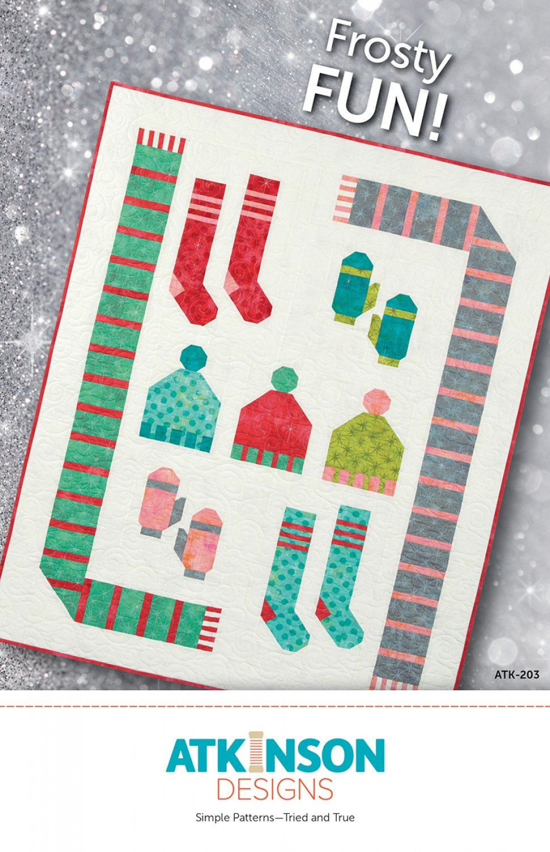 Frosty Fun Quilt Pattern