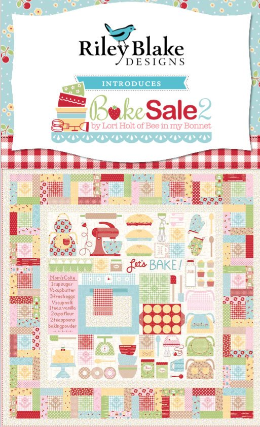 Lets Bake Quilt KIT