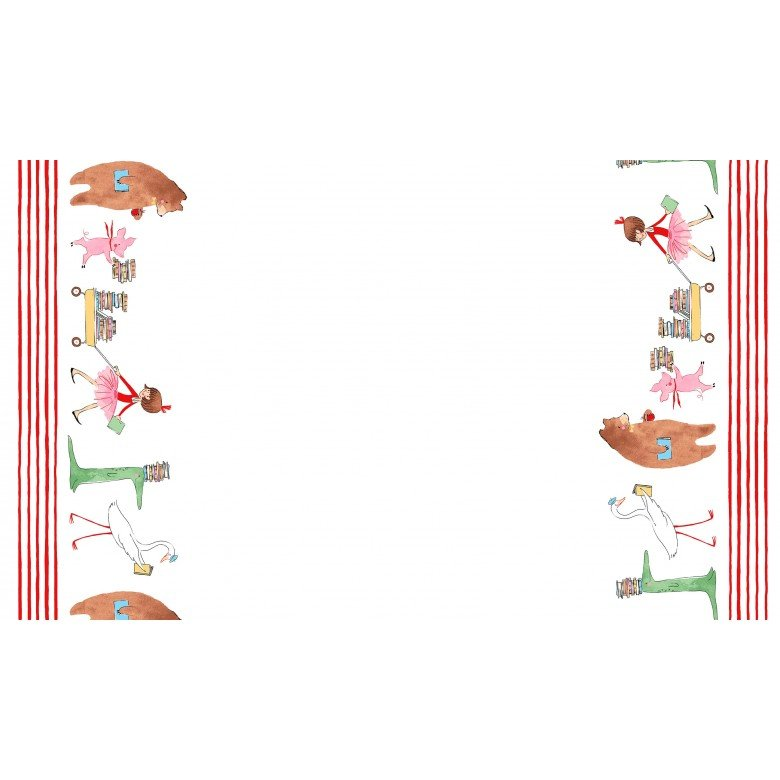 Lola Dutch Parade - Double Border - 24 Inch Repeat