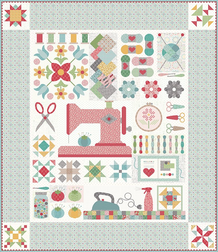 My Happy Place STITCH Quilt KIT RESERVATION FEE ONLY