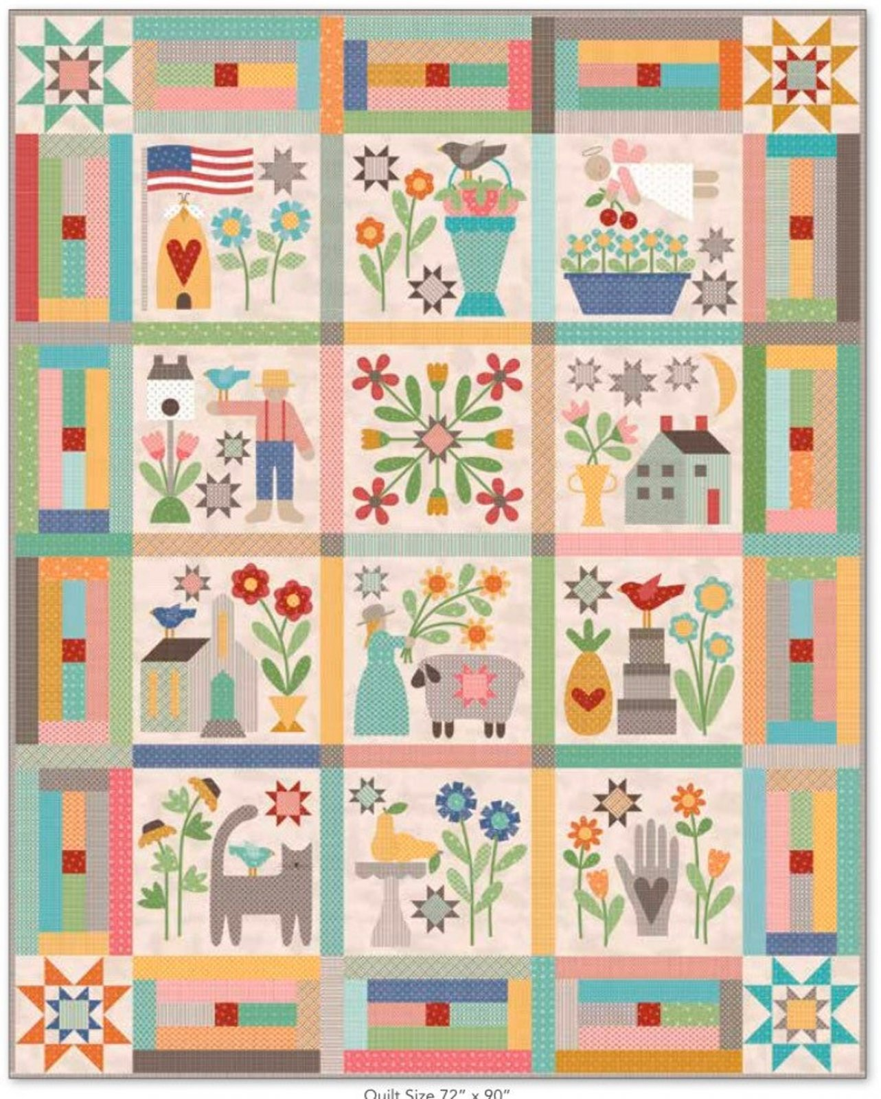 PRIM Quilt KIT RESERVATION with Charm
