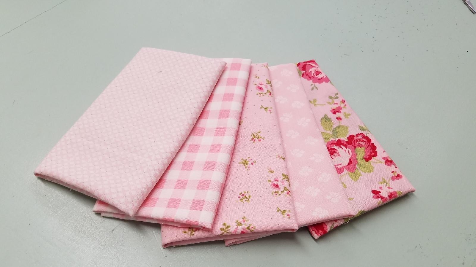 Sophie Pink 5 FQ Bundle