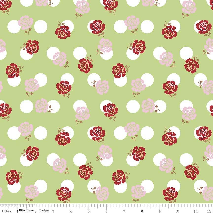 Sew Cherry 2, Rose Green C5801