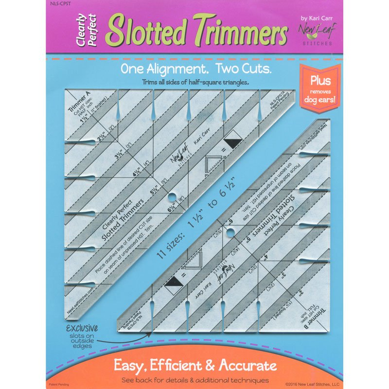 Slotted Trimmers A & B Pack