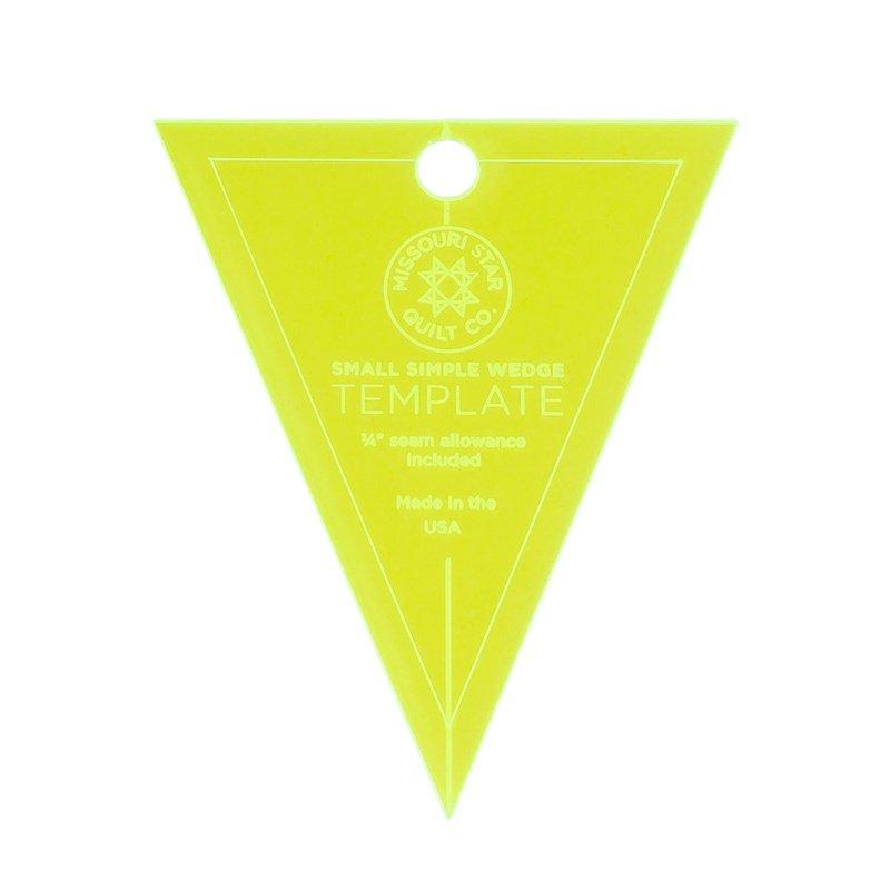 Small Simple Wedge Template - Missouri Star