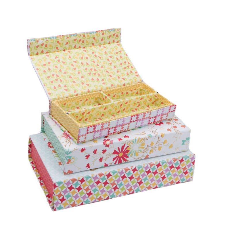 Sunnyside Up Set of 3 Pencil Boxes