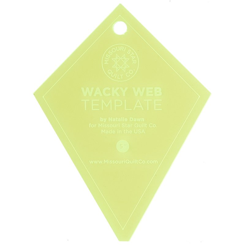 Wacky Web Small Template - Missouri Star