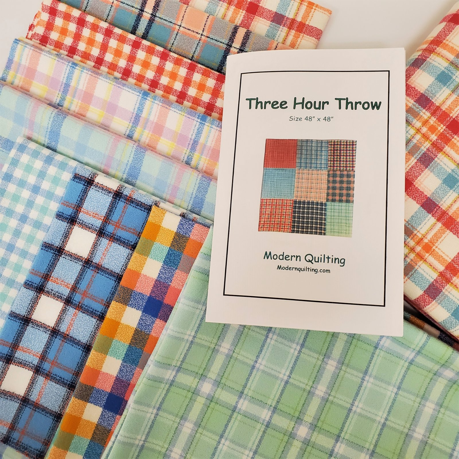 3 Hour Flannel Throw Quilt Kit