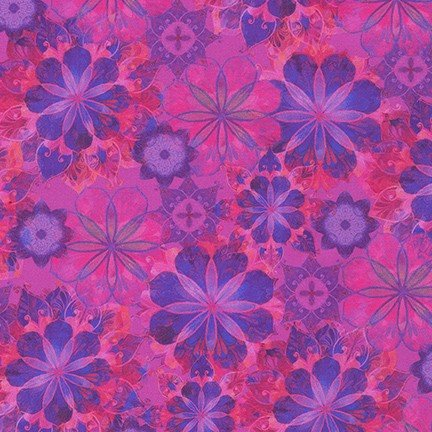 Venice Floral - Amethyst- 19722-20