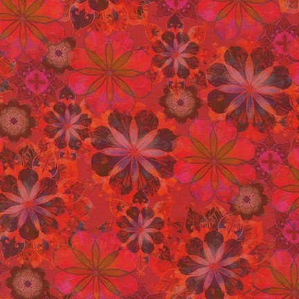 Venice Floral - Red- 19722-3