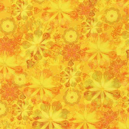 Venice Floral - Yellow- 19722-5