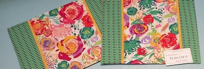 As You Like It - Garden Placemat Kit