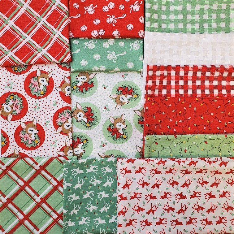 Deer Christmas Assorted Red & Green Bundle