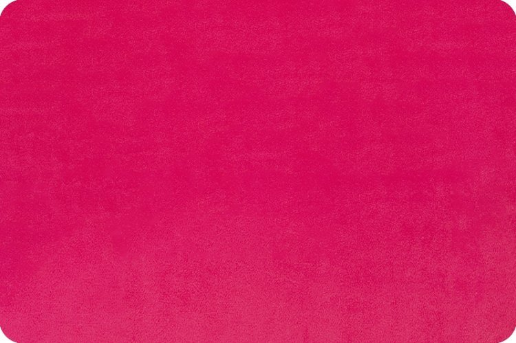 Minky - Fuchsia Solid Cuddle 3