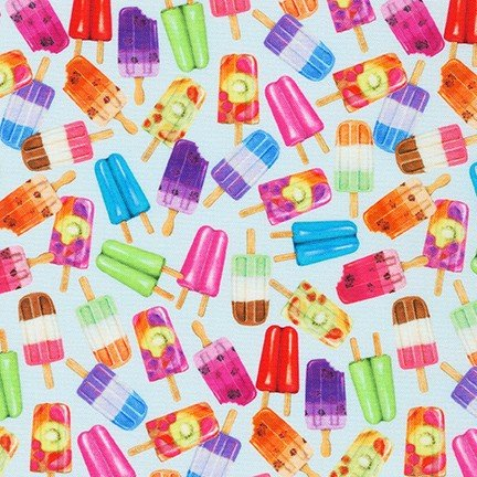 Sweet Tooth - Popsicles on Blueberry