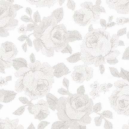Whisper Prints 5 - Lined Roses - Shadow