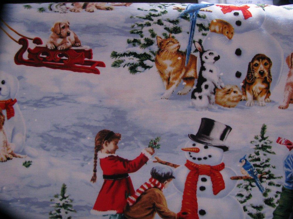 Elizabeth's Studio Holiday winter scenes/white